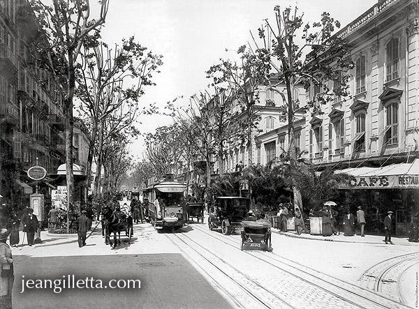 Nice, avenue Jean Médecin, 1910  Photothèque Jean