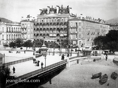 nice promenade des anglais ruhl 1900 phototh que jean gilletta depuis 1880. Black Bedroom Furniture Sets. Home Design Ideas